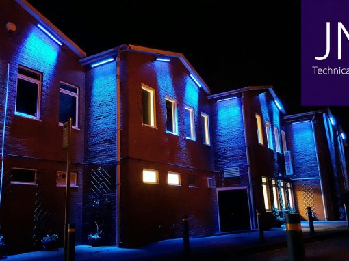 Exterior LED lighting added to Lordswood Leisure Centre