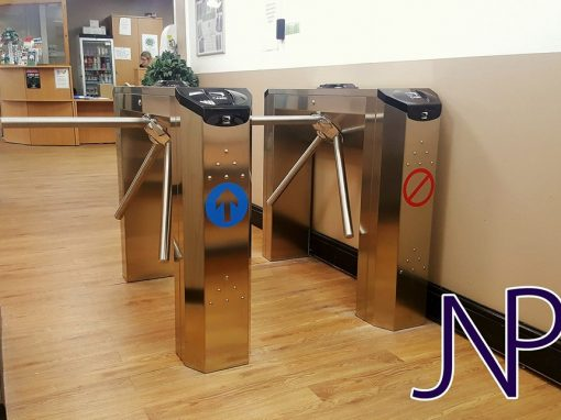 Access Control Installation at Acorns Health & Fitness
